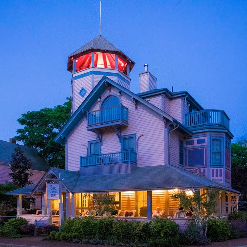 I wanted the Ritz in a humble inn situated right in Oak Bluffs... and I found it!